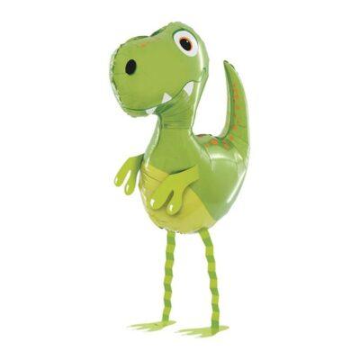 Шар ходячий Динозавр зеленый