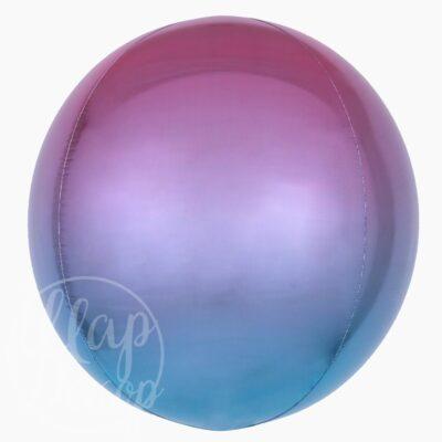 Шар сфера сине-фиолетовый