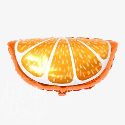 Шар воздушный с гелием Апельсин долька