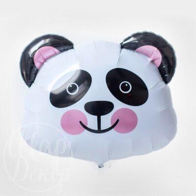 Шар воздушный с гелием голова панды