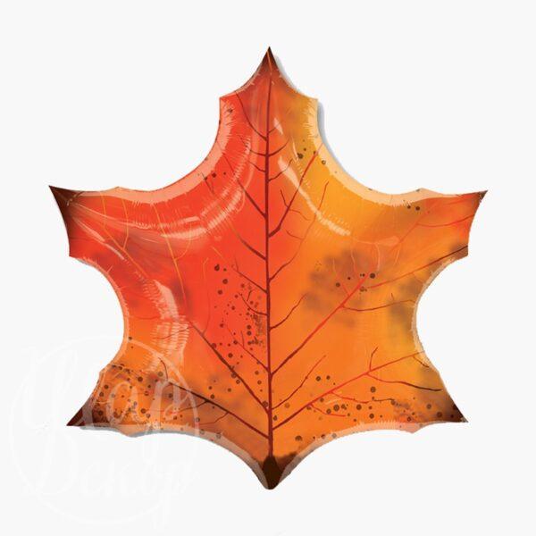 Шар воздушный с гелием Кленовый лист