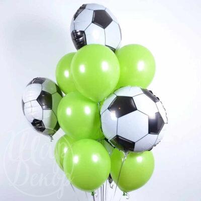 Букет воздушных шаров с гелием Футбольное поле