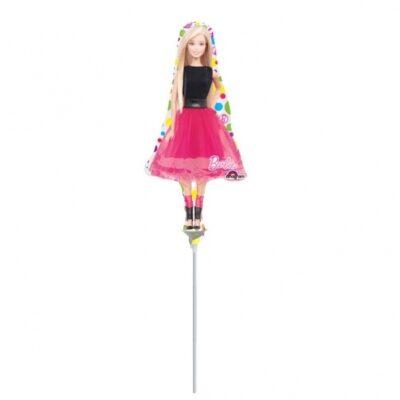 Шар воздушный мини-фигура Барби