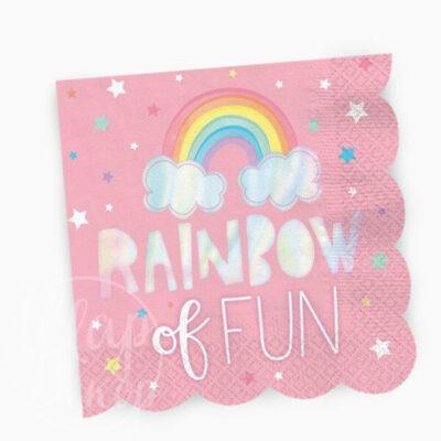 Шар воздушный надпись Happy birthday радуга пастель